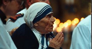 """Mother Teresa's statement to the UN conference was dishonest, manipulative opportunism for which it is hard to find adequate words."" Photograph: Alan Betson/The Irish Times"