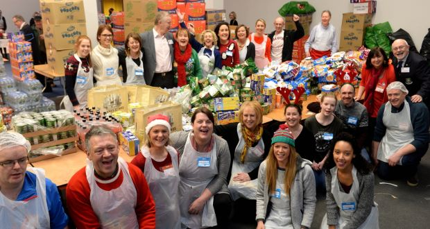 Christmas Helping Homeless.Hundreds Fed By Charity At Christmas Day Dinner