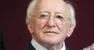 President Michael D Higgins signed a number of pieces of legislation on Christmas Day. Photograph: Alan Betson