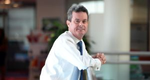 "Feargal O'Rourke, PwC Ireland managing partner: ""We're trying to capitalise on the significant number of Irish people looking to come home."" Photograph: Eric Luke / The Irish Times"