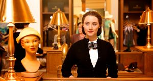 Saoirse Ronan in 'Brooklyn', John Crowley's film adaptation of Colm Tóibín's novel. Photograph: Kerry Brown/Mongrel Media