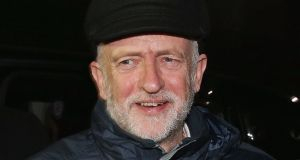 Jeremy Corbyn: one of the shocks of 2015 in the UK political system was the election of left-wing backbencher  Corbyn as Labour leader. Photograph:  Dan Kitwood/Getty Images
