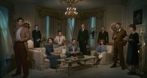 The cast of And Then There Were None, in which an excellent Aidan Turner gets all the best lines