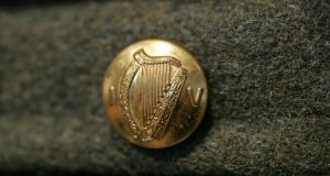 The government authorised the minister for foreign affairs  to submit the harp and shamrock to the World Intellectual Property Organisation for registration as trademarks. Photograph: Frank Miller/The Irish Times