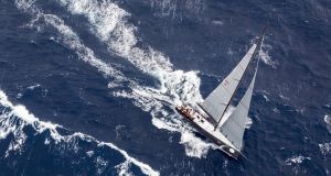 Ichi Ban with Howth Yacht Club's Gordon Maguire on board was second in IRC class zero in this week's Sydney-Hobart race. Photograph: Rolex
