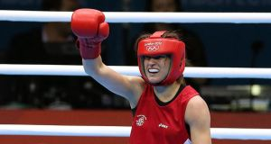 Thanks to Katie Taylor, things are looking up for Ireland at the Olympics.   Photograph: Julien Behal/PA Wire