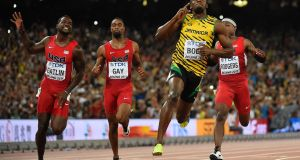 Watching Usain Bolt in the Olympics 100m final will be one of the hottest tickets of 2016. Photograph: Afp