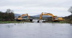 Suggested projects to ease flooding include dredging and engineering works. Photograph: Joe O'Shaughnessy