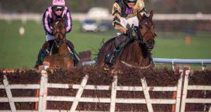 Bellshill took the grade one Lawlor's Hotel Novice Hurdle at Naas. Photograph: Inpho