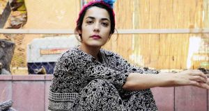 Jenny Lee Lindberg, whose new record is a solo outing. Photograph: Mia Kirby