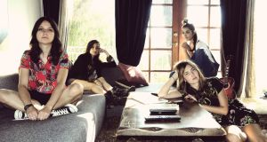 Warpaint: recording their third record early this year