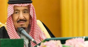 Saudi Arabia's King Salman has endorsed injudicious policies that could have disastrous consequences for his country and the Middle East. File photograph: Ho/AFP/Getty Images