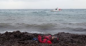 Seven children among dead after boat apparently capsizes. Photograph: Reuters