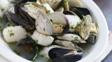 Culinaria: claims on a half shell