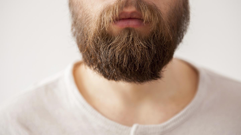 Волосы мужчины без лица