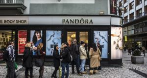 Pandora's fourth-quarter revenue of 2015 rose about 36 per cent.   Photograph: Martin Divisek/Bloomberg