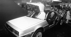 John DeLorean in 1981. There were three DeLorean stories – DeLorean the man, DeLorean the car, DeLorean the factory – and that the only place where they all overlapped was Belfast. File photograph: PA