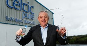 Celtic Pure's Padraig McEneaney: he said the business grew by 27 per cent last year, with sales of about €8.6 million. For 2016, it is targeting the €10 million sales barrier for the first time.
