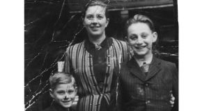 Shoah: Tomi Reichental with his mother and brother; they survived the Bergen-Belsen concentration camp. Photograph: family collection