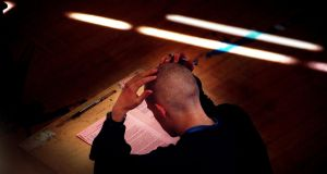 Academics have warned that students at third level are increasingly unable to cope with courses that require maths  competence and require support to pass exams. Photograph: The Irish Times