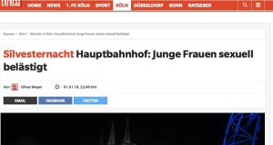 "Cologne's Express newspaper headlined its report from 10:49pm on January 1st: ""New Year's Eve Central Station: Young Women Sexually Harrassed."" This is evidence the  Express did not ignore or cover up the incidents."