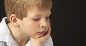 A grumpy child can be a challenge, but there are strategies to help you – and him. Photograph: Thinkstock