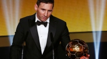 Lionel Messi dedicates Ballon d'Or to his teammates