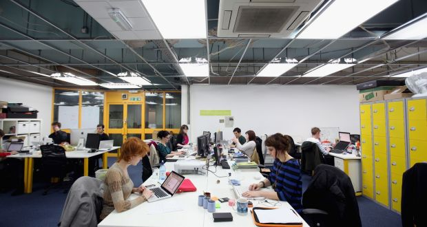 In a survey of millennials by Deloitte, two-thirds said they hoped to be working for a different organisation in five years or sooner. (Photograph: Oli Scarff/Getty Images)