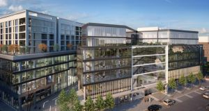 Number One Ballsbridge: large scheme is under construction. There is significant institutional investor interest in buying end product in Dublin