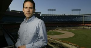 Paul DePodesta has excelled is at harvesting the reams of information now available to coaches and scouts. Photograph:  Myung J. Chun/Los Angeles Times via Getty Images