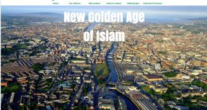 Hijra2Ireland.com front page.