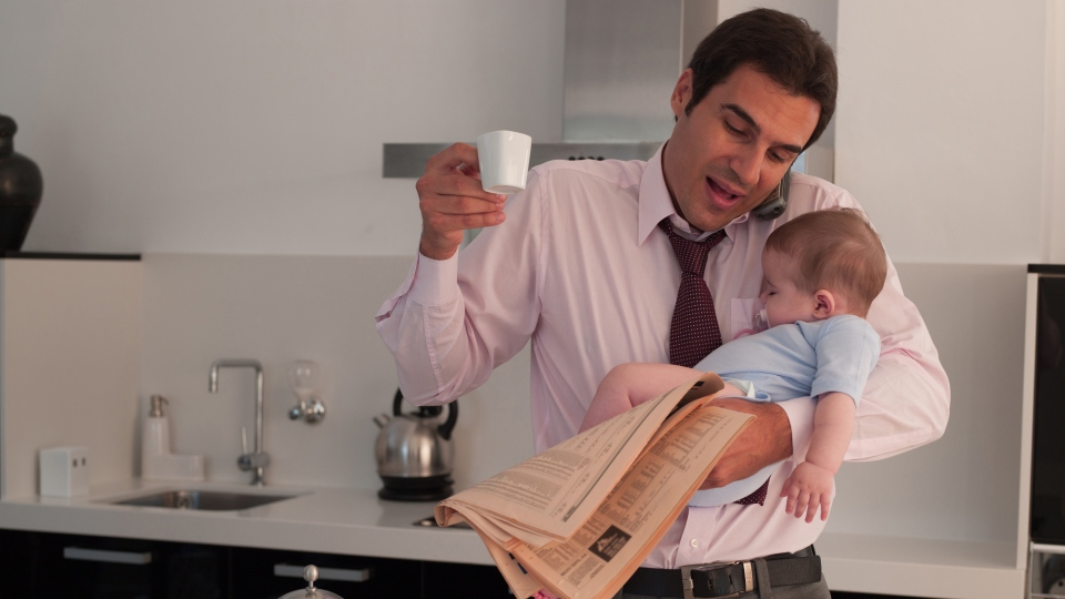 Banish daddy guilt: 10 tips for frazzled working fathers