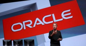Oracle's exectutive chairman of the bBoard and chief technology officer Larry Ellison. The company is taking on 450 people in Dublin