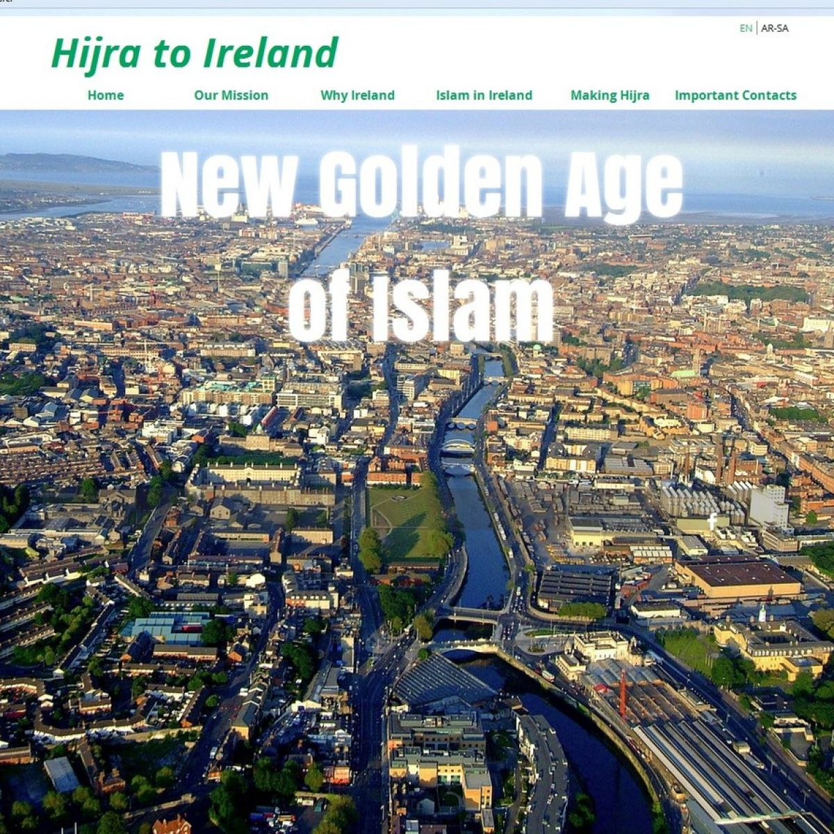 Rights body distances itself from Muslim migration website