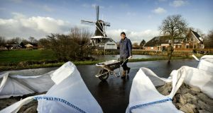 Flood defences in Holland. Making space for floodwaters is the concept now being pursued by the Dutch becuase it affords greater protection by seeking to replicate natural processes.