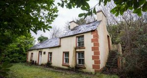 The Laurels cottage in Glenties, the original home of the five Mundy sisters where Brien Friel played as a child and set his play 'Dancing at Lughnasa. Photograph: Brenda Fitzsimons