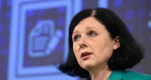 "EU commissioner Vera Jourová:  ""only a comprehensive arrangement with clear legal commitments"" could ensure the level of data protection Europeans were entitled to under EU law"