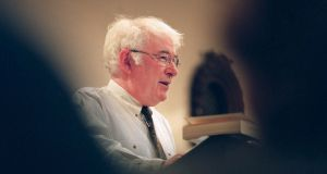 Seamus Heaney, file. griangharf: alan betson/the irish times