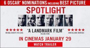 Spotlight - In cinemas January 29