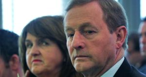 Taoiseach Enda Kenny and Tánaiste Joan Burton. Mr Kenny has again ruled out increasing rent supplement to deal with the homelessness crisis. File photograph: Colin Keegan/Collins Dublin