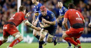 """We can't afford to just throw Josh van der Flier (above), Gary Ringrose, Ulster centre Stuart McCloskey and promising Munster flanker Jack O'Donoghue into the Test match arena."" Photograph: Dan Sheridan/Inpho"