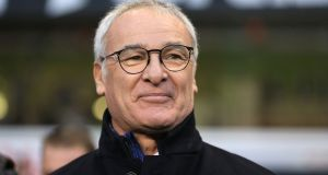"Leicester City manager Claudio Ranieri: ""It is a crazy league because if it was a normal league Leicester would not be at the top. The other bigger teams would be there."" Photograph:  Nigel French/PA Wire"