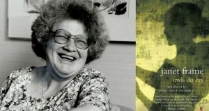 "Janet Frame, whose novel, Owls Do Cry, has been reissued by Virago with a foreword by Margaret Drabble. Nobel Prize-winning author Patrick  White once mournfully told his US publisher that the book ""makes me feel I have always been a couple of steps out from where I wanted to get in my own writing"". Photograph: Getty Images"