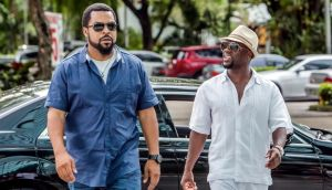 Badly behaved children: Ice Cube and Kevin Hart in Ride Along 2
