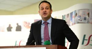 Minister for Health Leo Varadkar said he is disappointed at the rejection by GPs of Government proposals to deal with a shortage of GPs in rural areas. Photograph: Dara Mac Donaill / The Irish Times