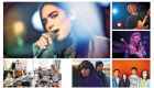 Eurosonic boom: (clockwise from above left) Dua Lipa, Blaue Blume, Promise and the Monster, Koala Voice, Hydrogen Sea and Liima. Photographs: Eurosonic