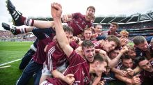 A number of Galway's All-Ireland winning minor panel are involved with Gort CS and Presentation College Athenry this year. Photograph: Cathal Noonan/Inpho