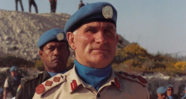 "Lt Gen William (Bill) O'Callaghan (also known as   ""The Bull"" Callaghan): an accomplished and unflappable leader, he   described the experience of peacekeeping in the Middle East as follows: ""We must look for trouble at the four points of the compass. And then we look behind our backs."""