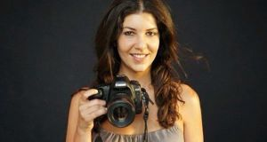 Leila Alaoui: the photographer, whose work has been shown in Paris, Dubai and New York,   died aged 32 following a terrorist attack  in Burkina Faso. Photograph: AFP/Getty