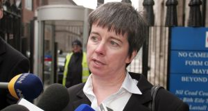 The State has asked the High Court to strike out a decision permitting it to be sued by three alleged sexual abuse victims following a European court ruling in the landmark case of Louise O'Keeffe (above). File photograph: Garrett White/Collins Court